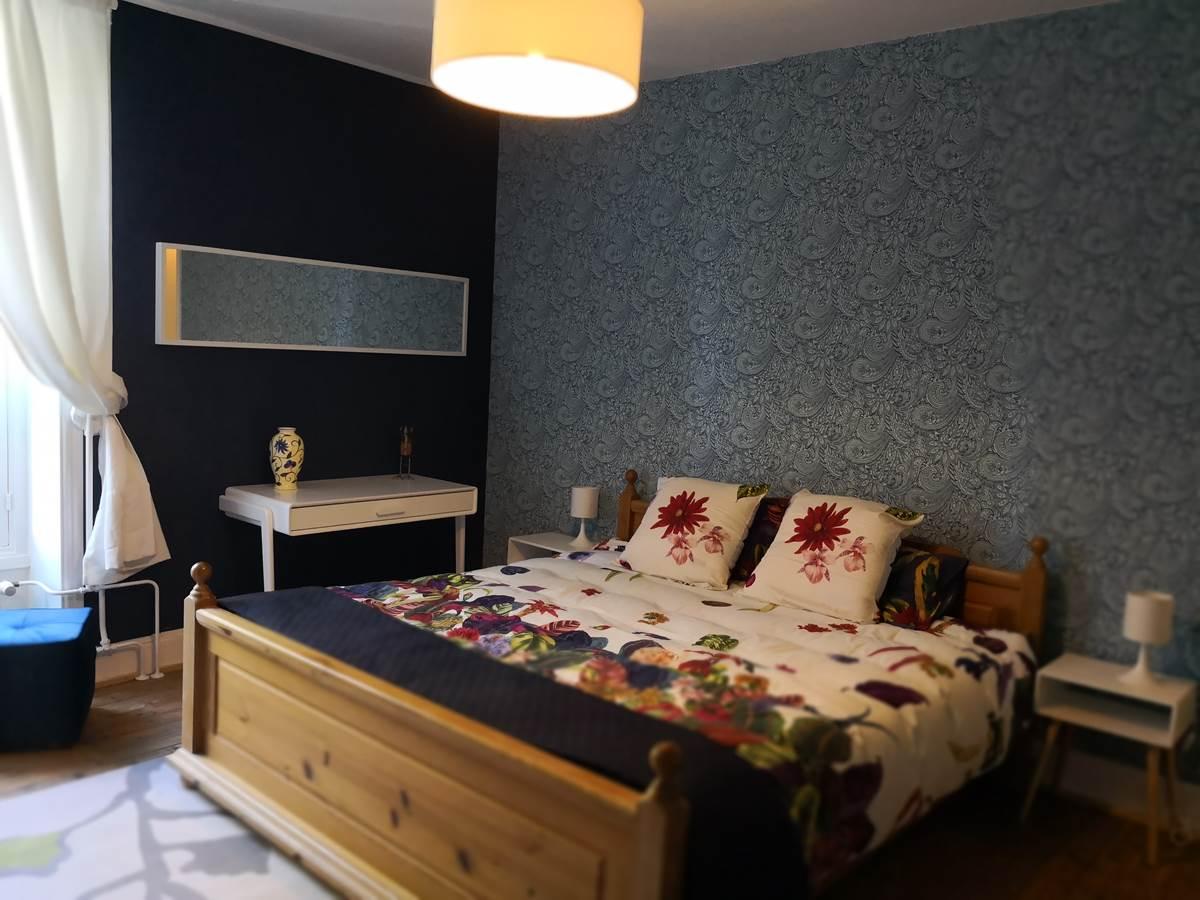 Maison Courbarien- chambre double Lazuli