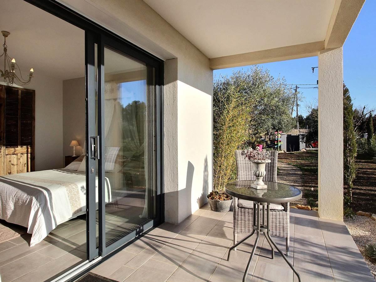 terrasse privative chambre charme romantique indépendance piscine var verdon provence
