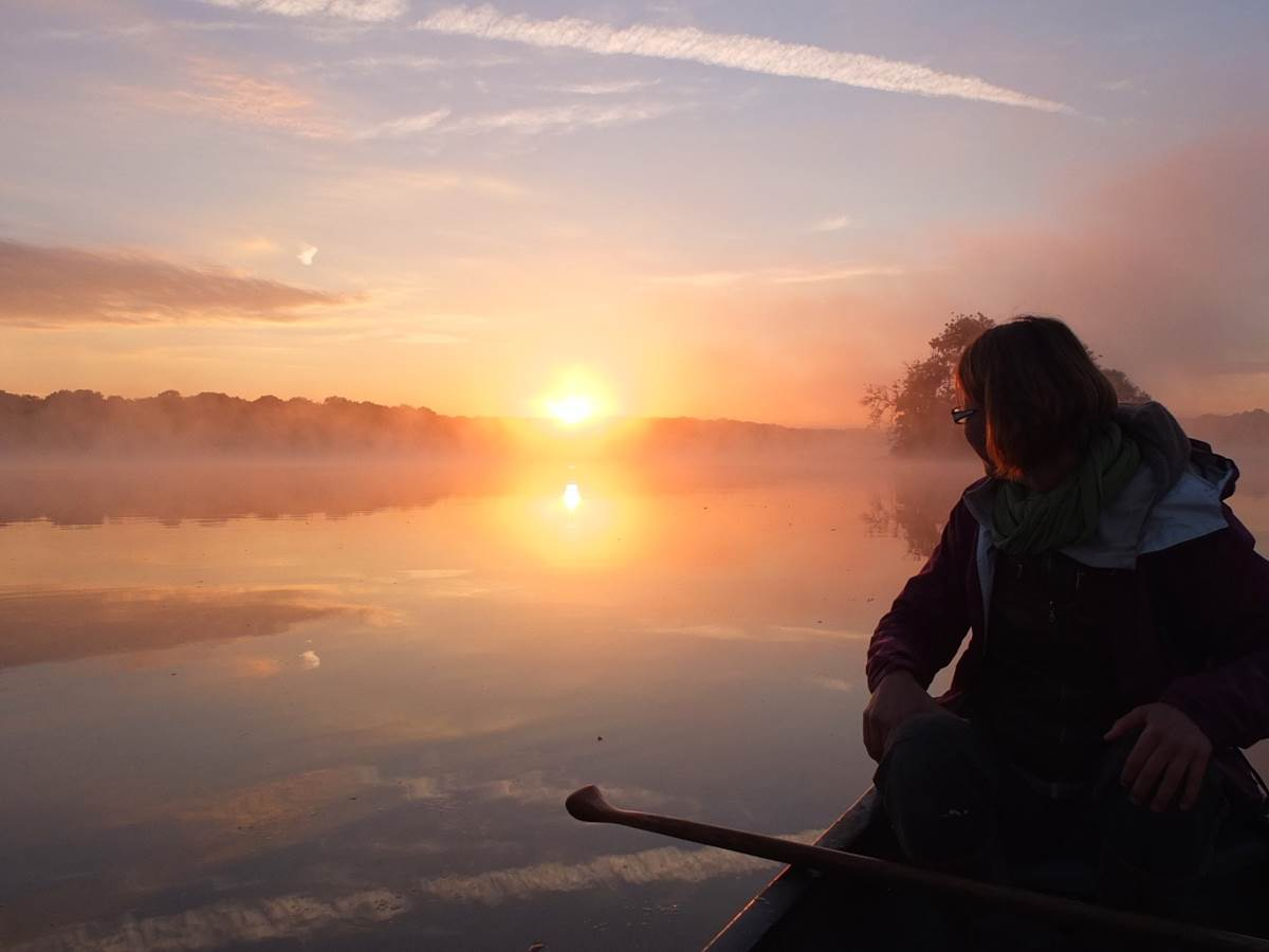 Etang lever soleil
