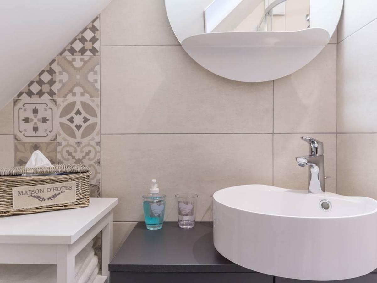 maisonnette salle de bain