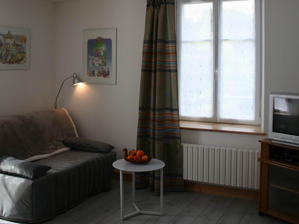 L'espace salon de la chambre Images