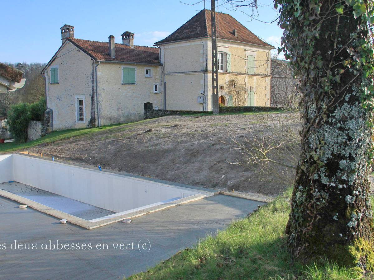 POOL Terrasse en travaux