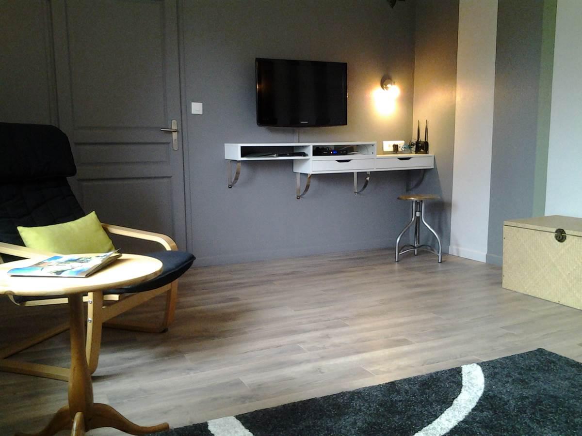 Grand salon Suite Papillon La Forestière Chambres hôtes quercy occitanie montauban gaillac monclar