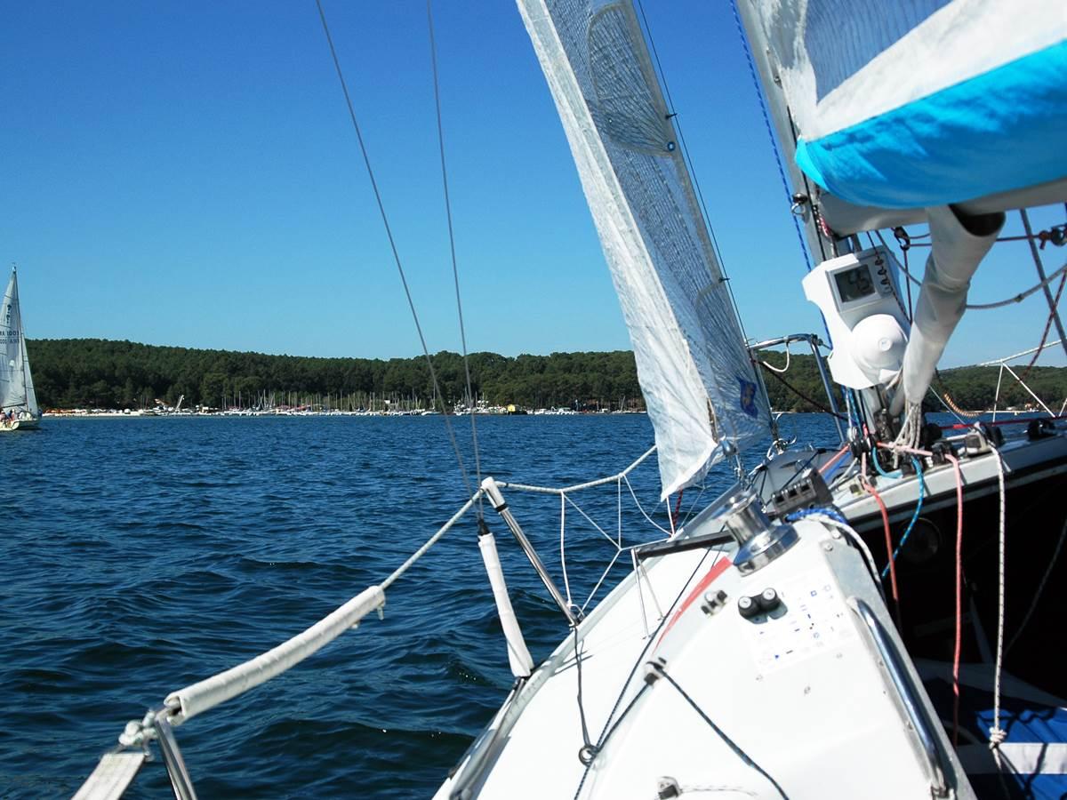 Balade en bateau ou l'océan vu du large