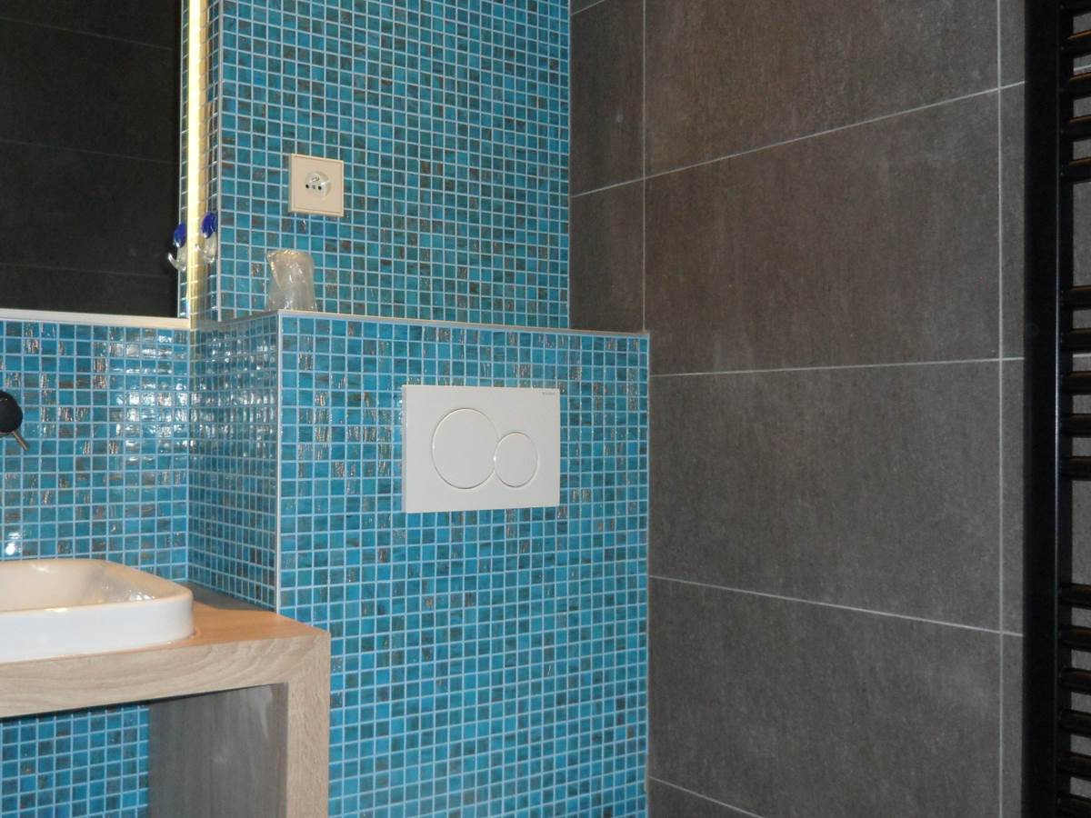 Salle de bain rénovée fin 2015 hôtel Jean Bart