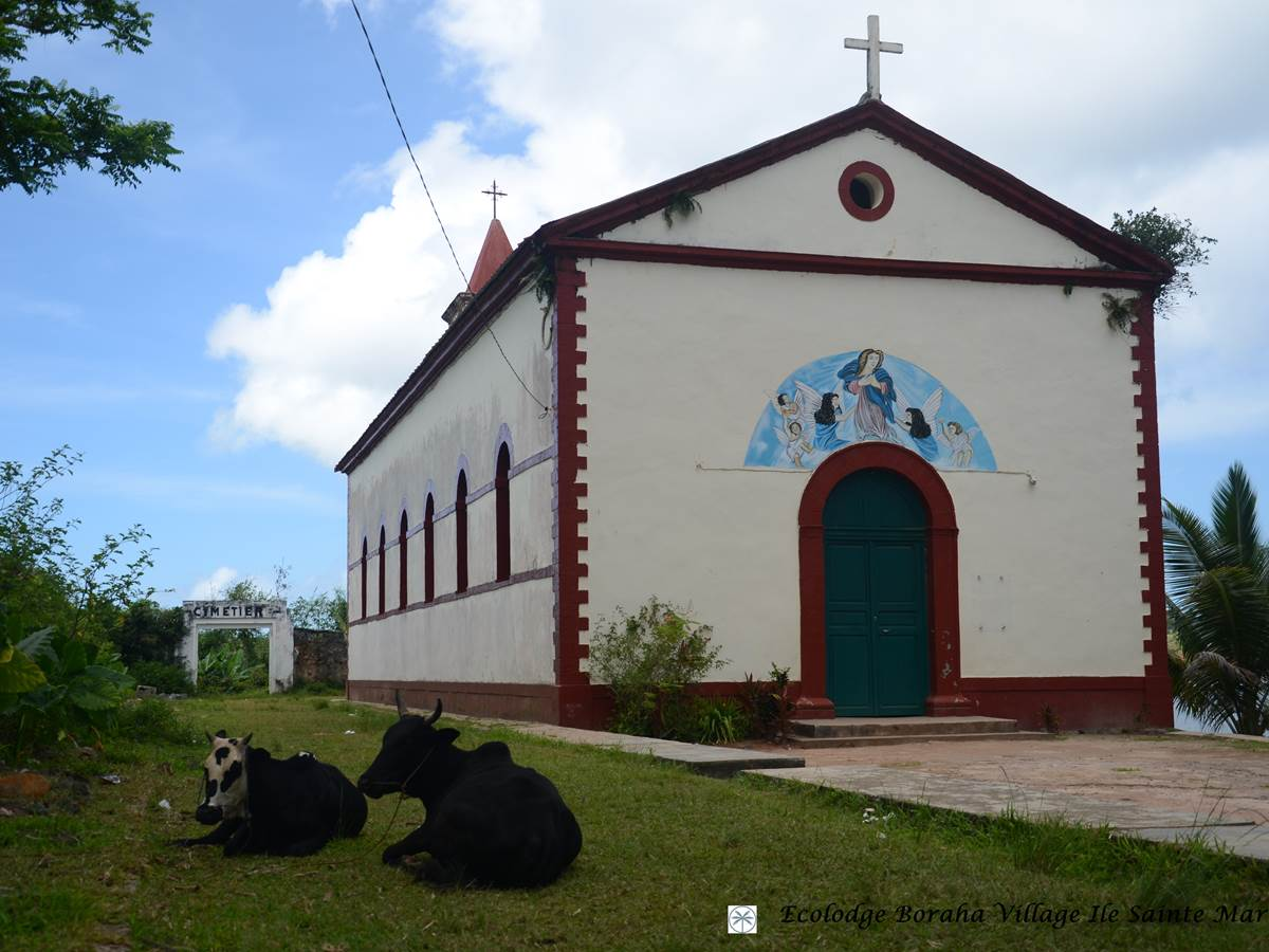 1ère Eglise Catholique Ile Ste Marie Madagascar 01