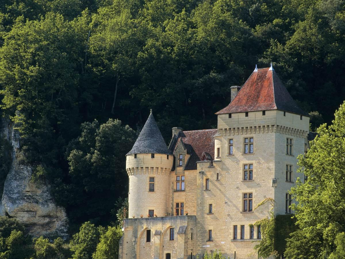 Le chateau de la Malartrie à La Roque Gageac
