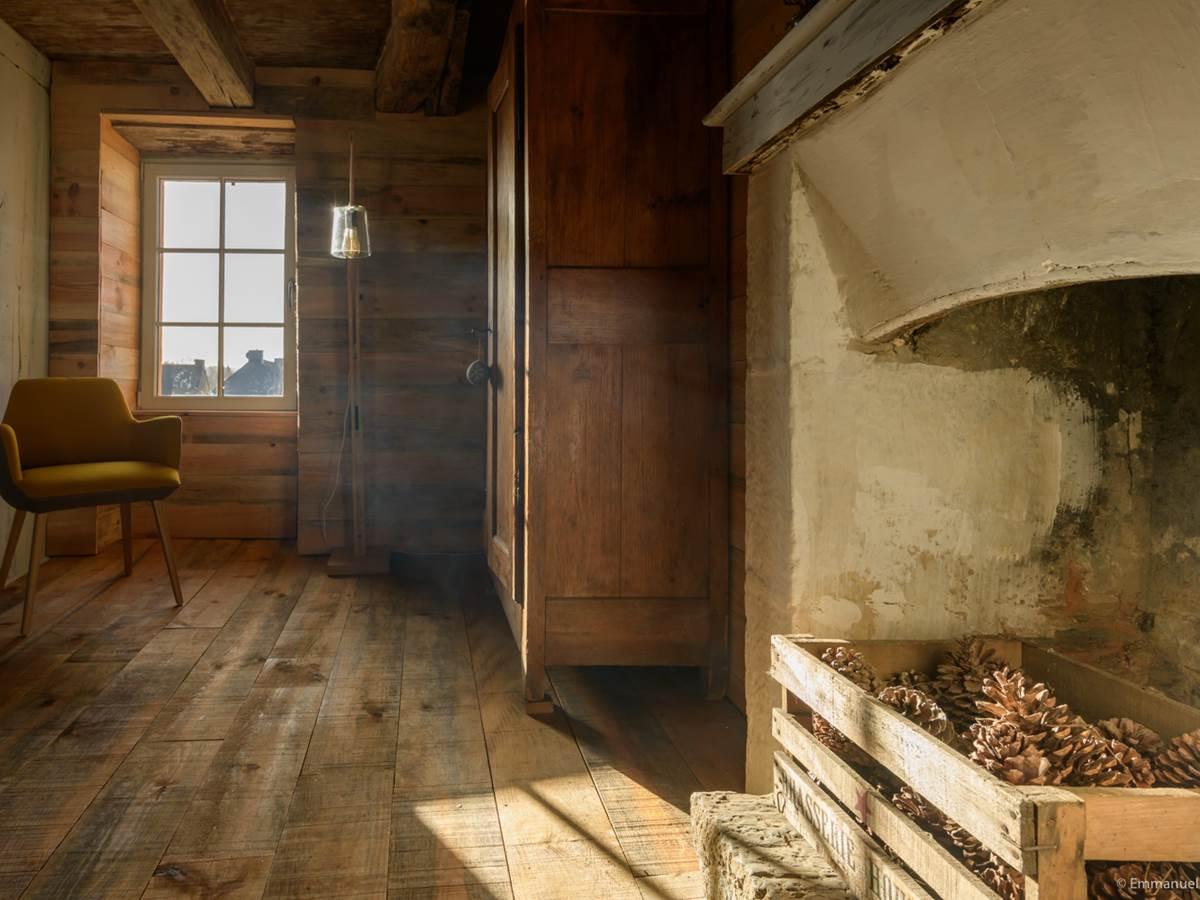 chambre 2 gîte bien être Le Jardin intérieur à Saint Congard - Bretagne