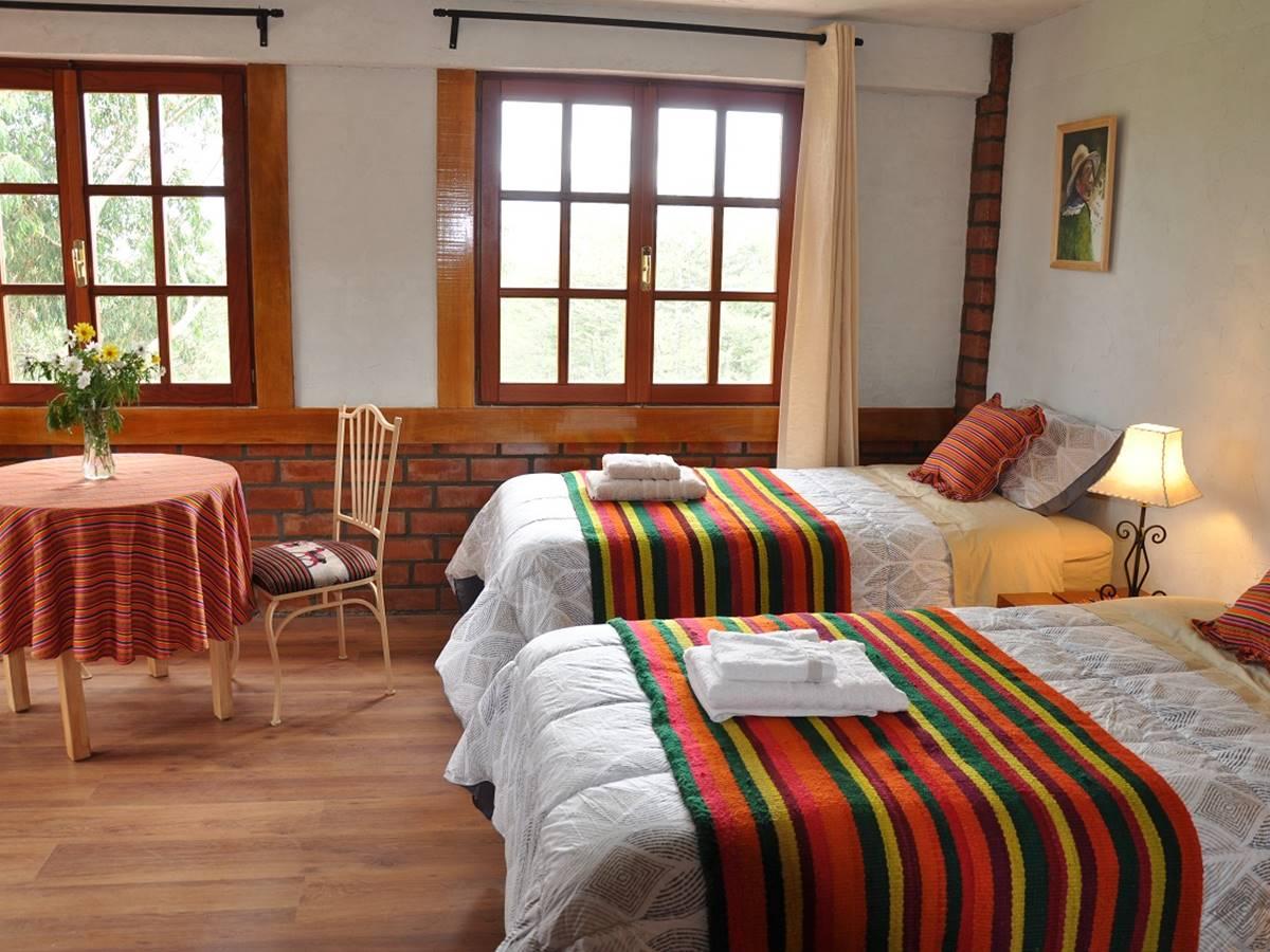 Habitación de Copacabaña Lodge