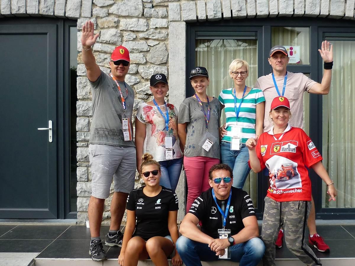 Venus de Lituanie pour le Grand Prix sur le célèbre circuit de SPA-FRANCORCHAMPS