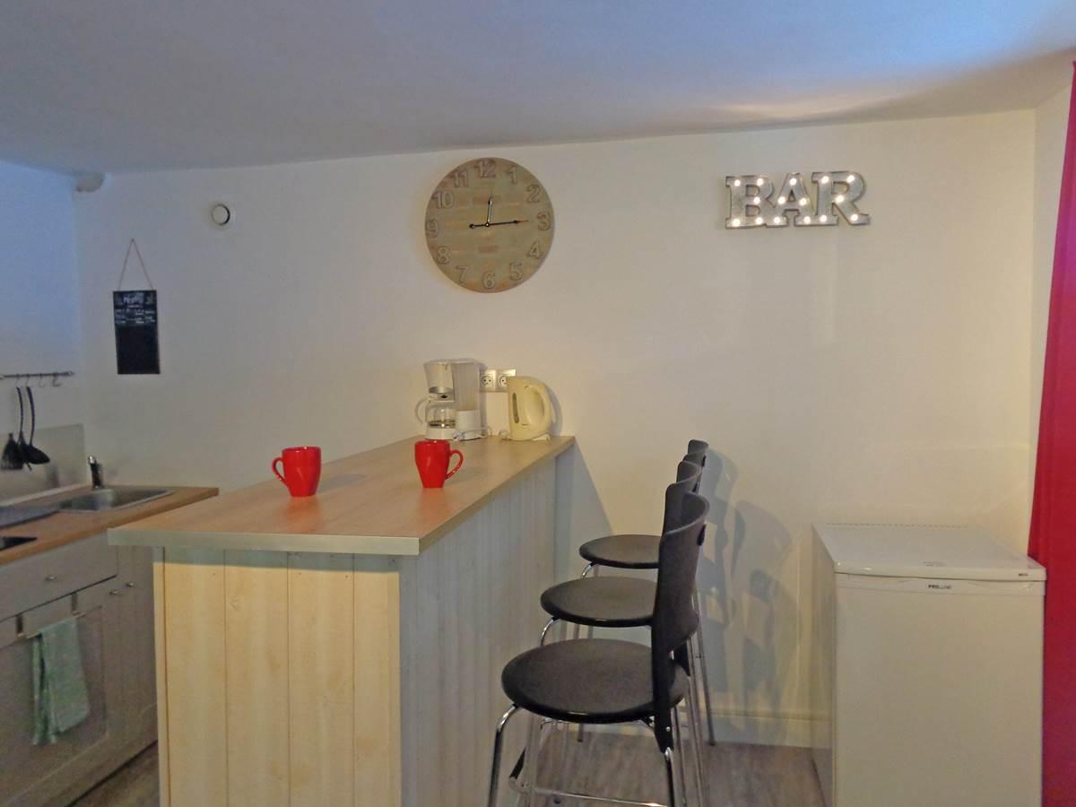 Studio Guéret - vue bar