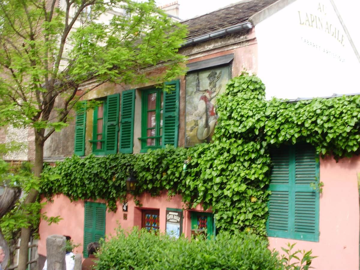 Montmartre - Le Lapin agile or ... Lapin à Gil !