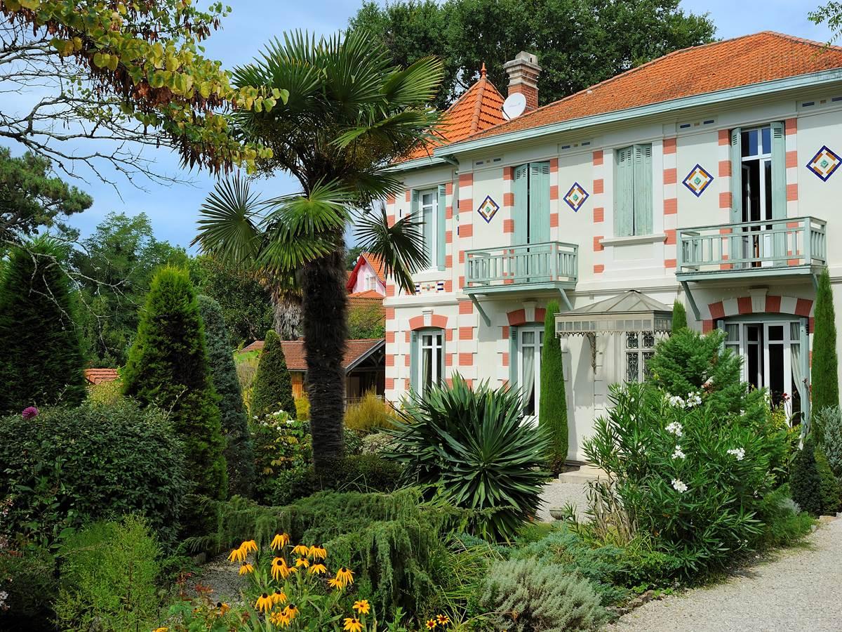 Villa pittoresque de la Ville d'Hiver d'Arcachon