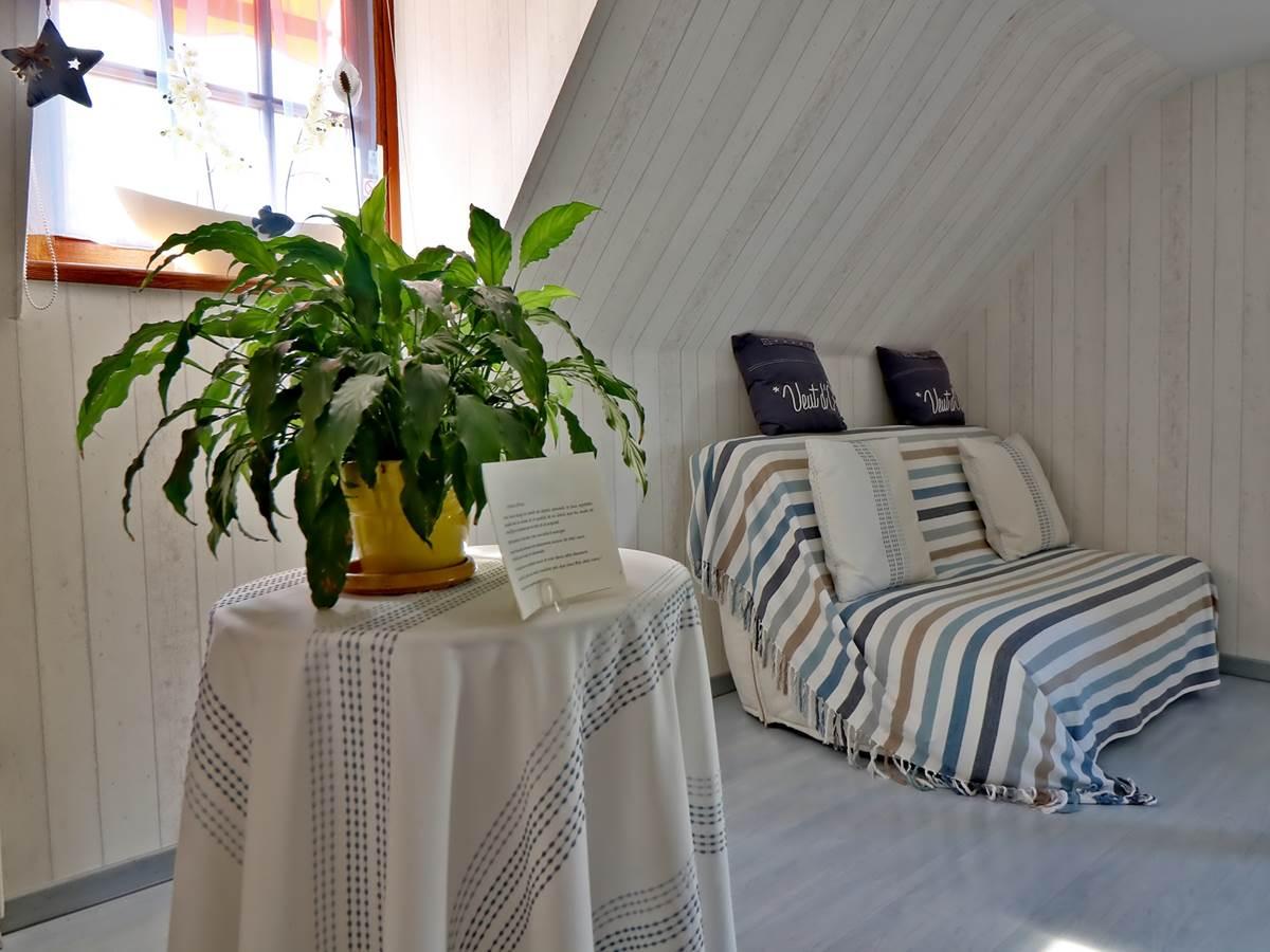 Partie salon Chambre double de Luxe Le Pas de l' Âne Saint Ondras