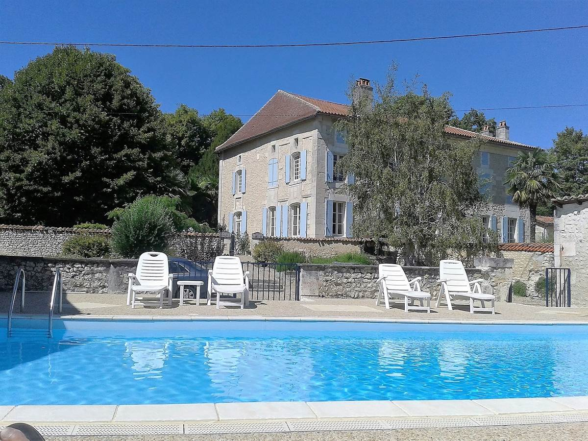 Piscine ( Villa Anglade et Le Nid)