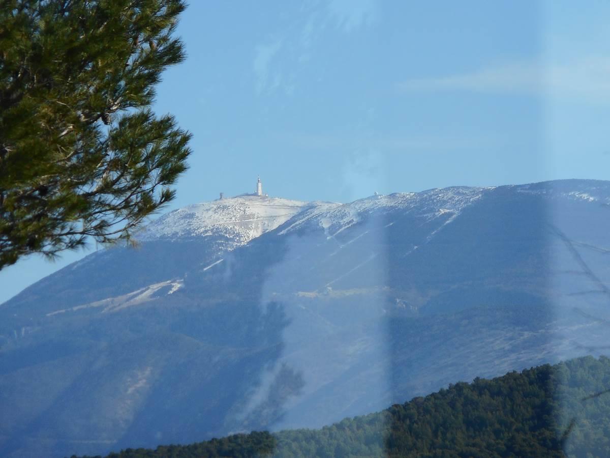 Le célèbre Mont Ventoux