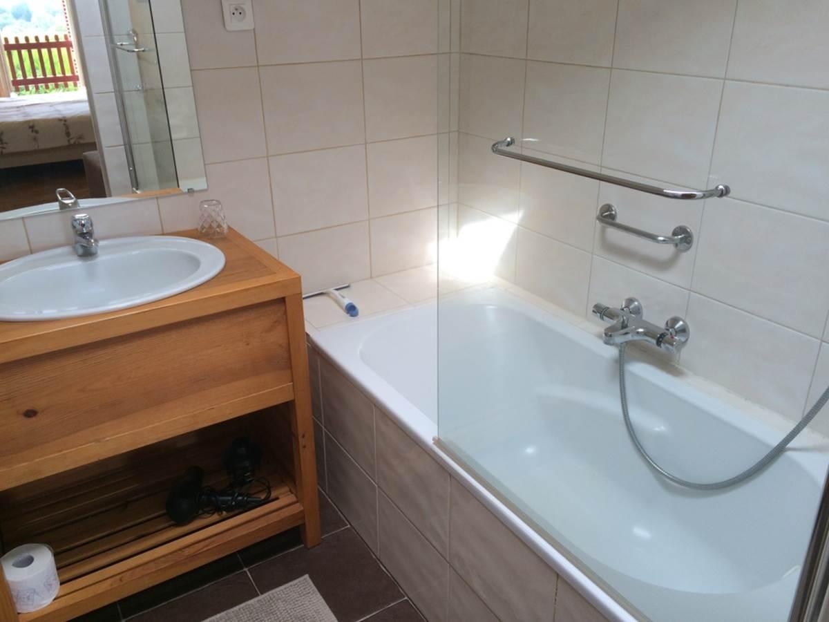 salle de bain Les Coquelicots