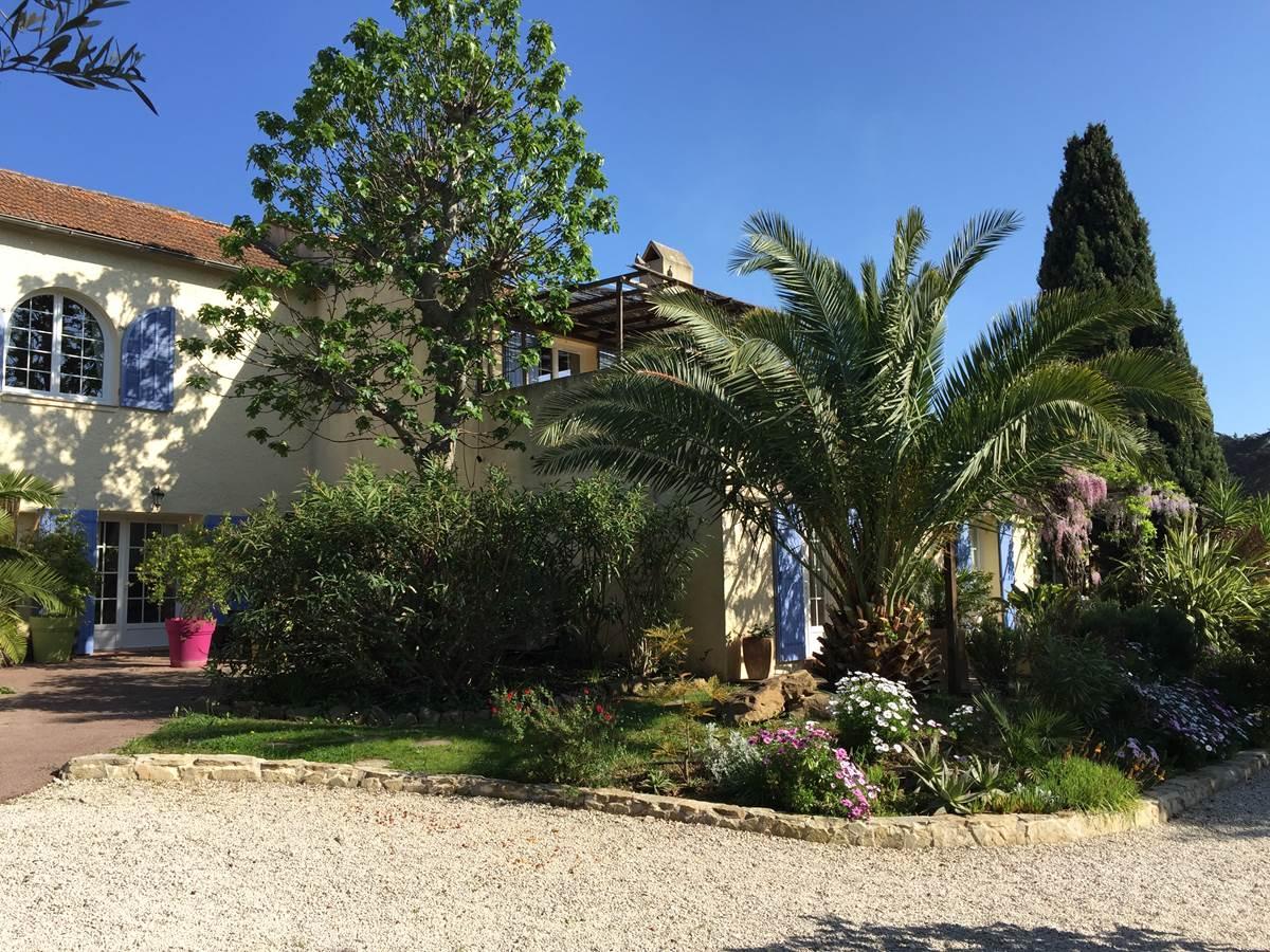 La Bastide côté jardin
