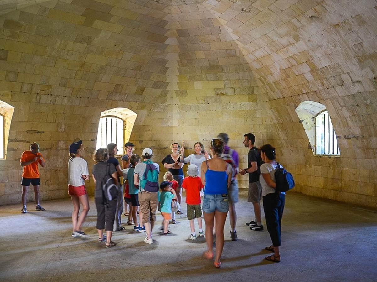 Visite guidée au Fort Liédot