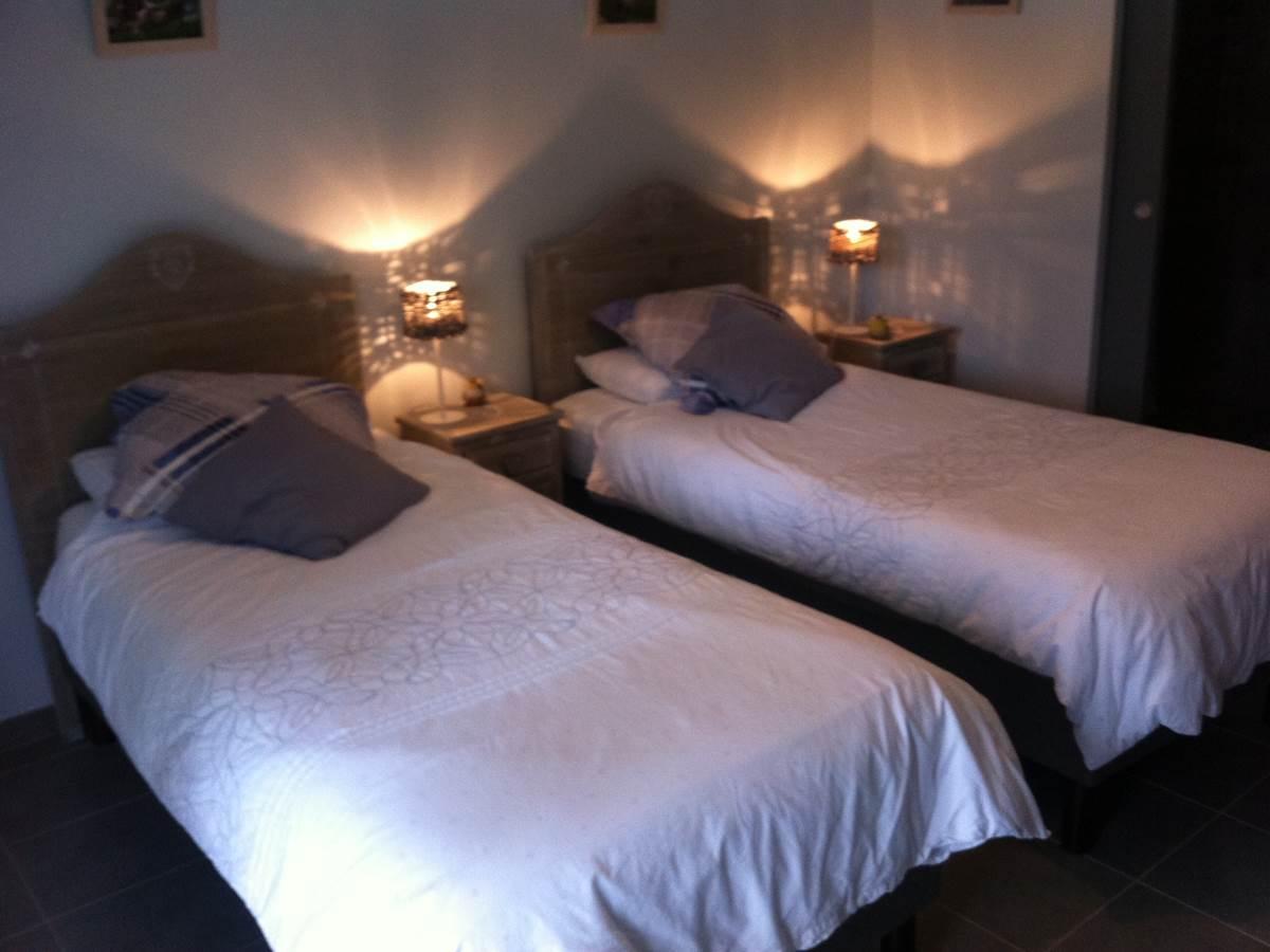 chambre vercors 2 lits simples