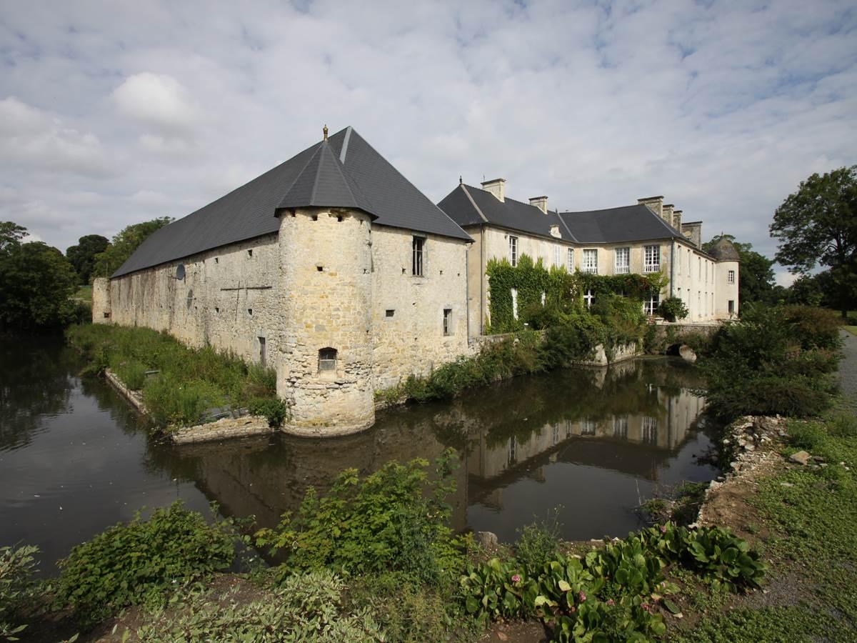 Château de Vouilly - vue extérieure