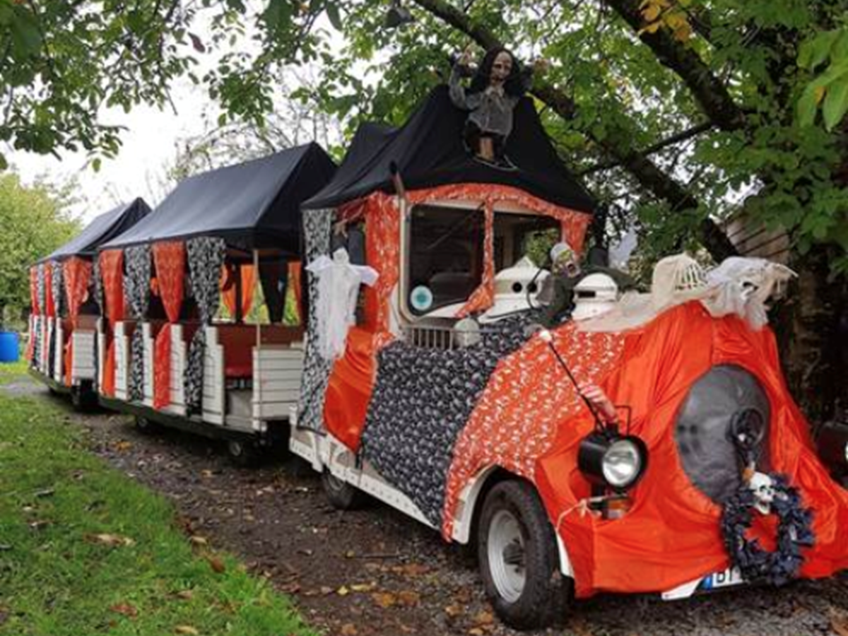Petit train d'Halloween