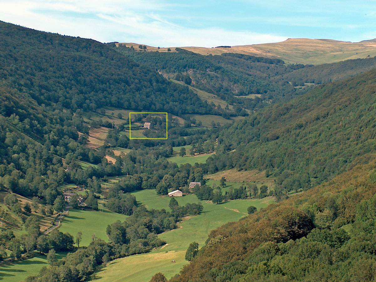La Roussière au fond de la vallée