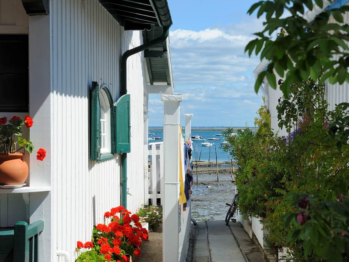 le petit hameau du Canon au Cap-Ferret