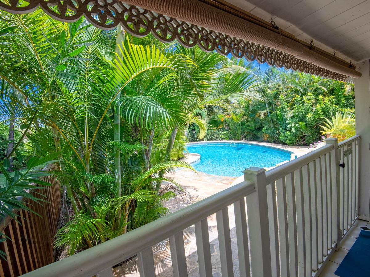 Ylang 2 vue piscine