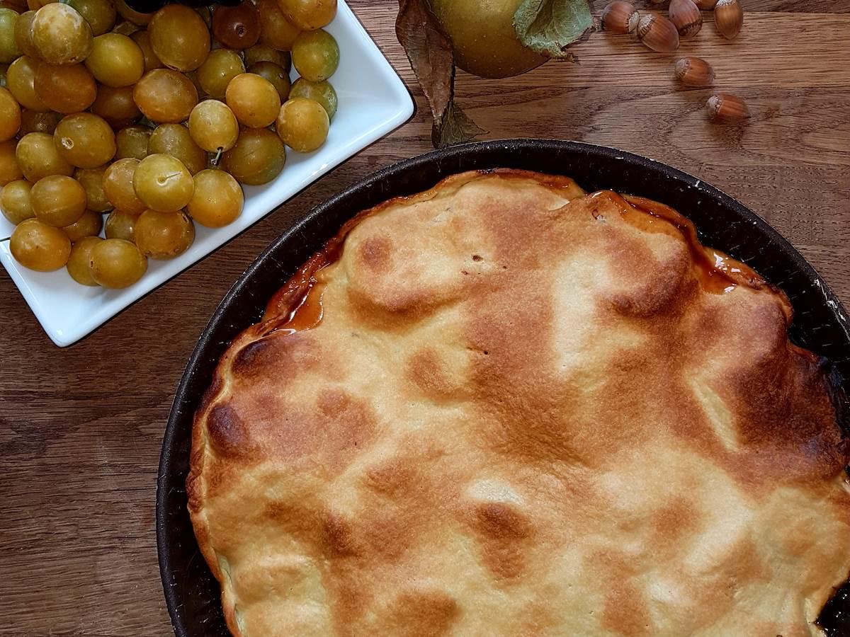 tarte aux saveurs d'automne