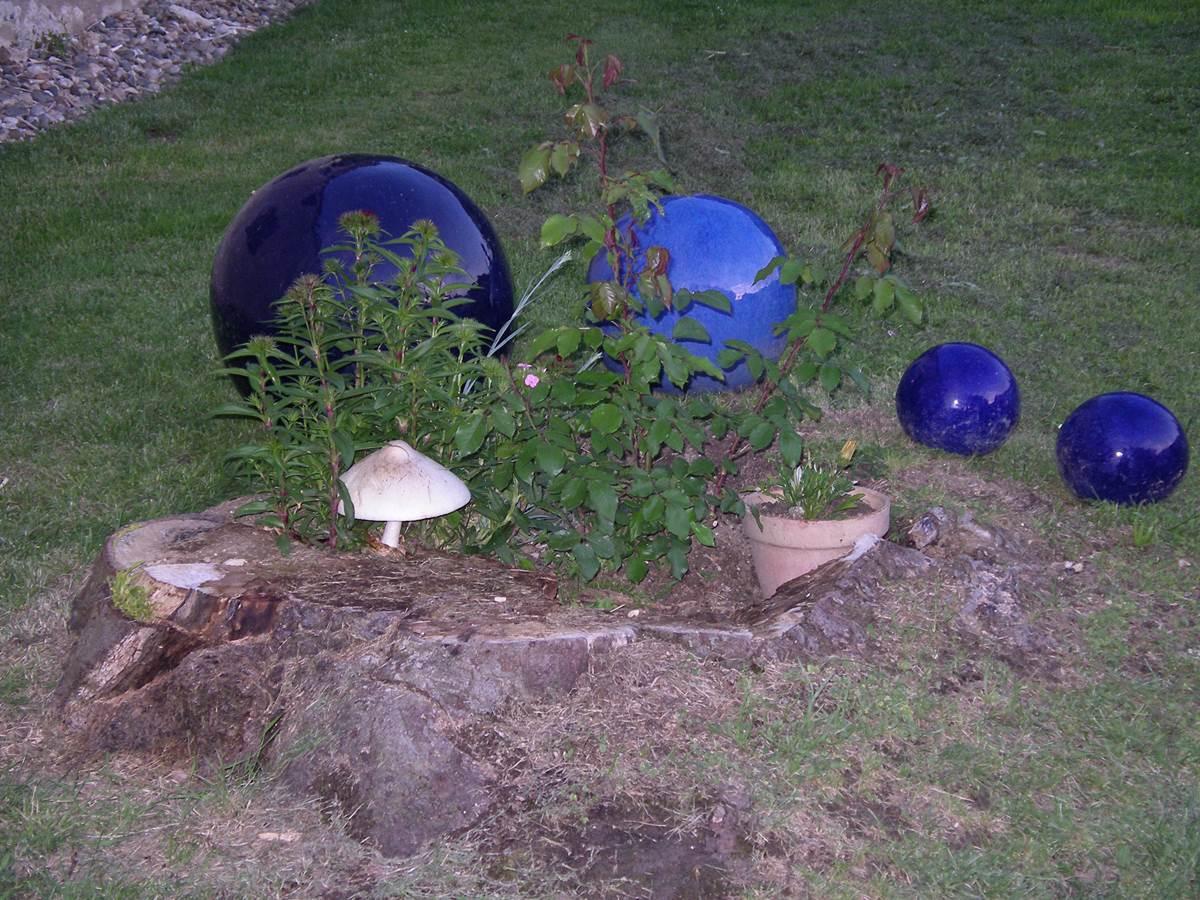 les décoration du jardin