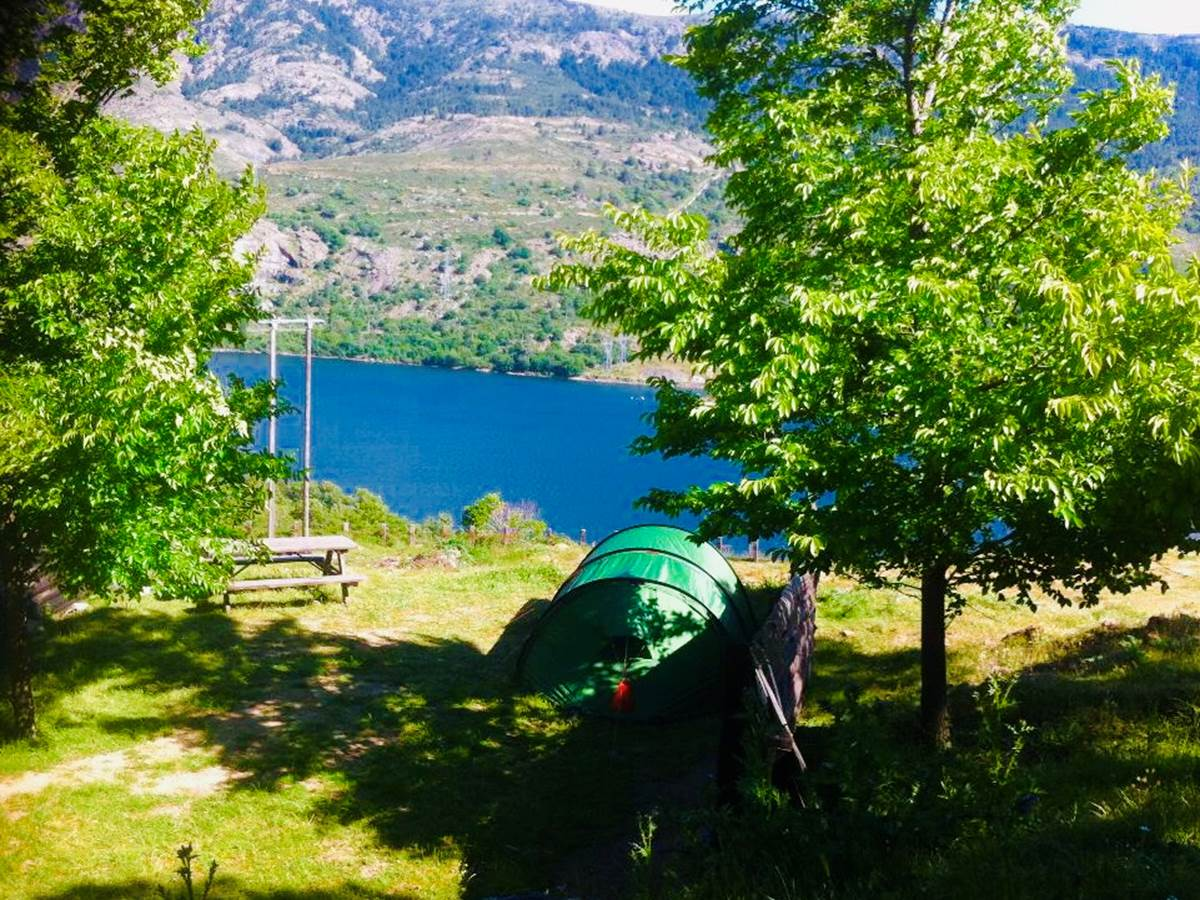 Vue sur le lac de Calacuccia
