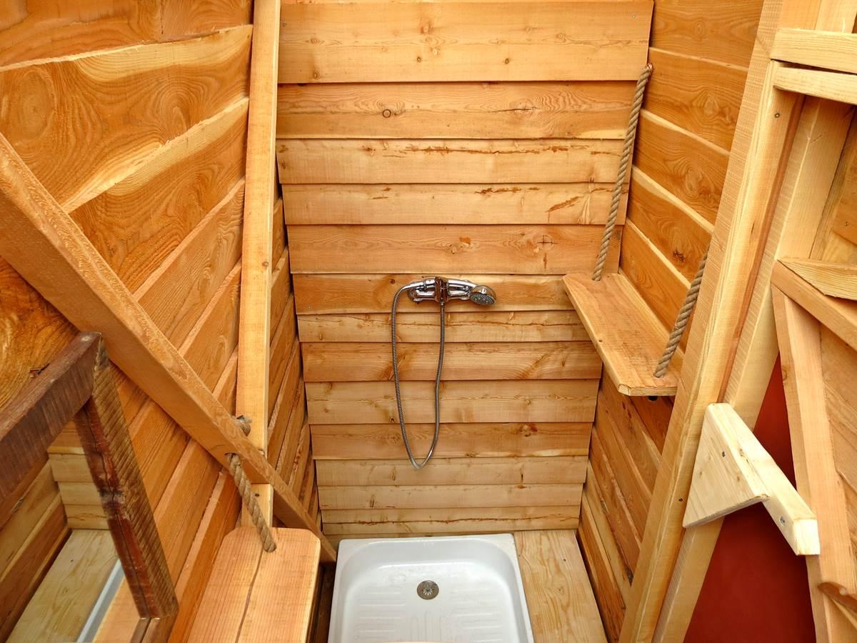 Douche privée - dôme