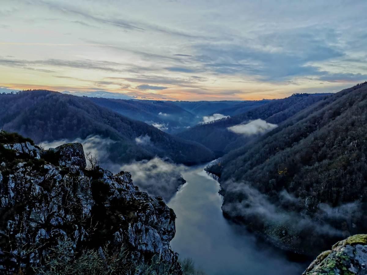 Gîte chemin de randonnée de villages en barrages Clémensac Sérandon Corrèze