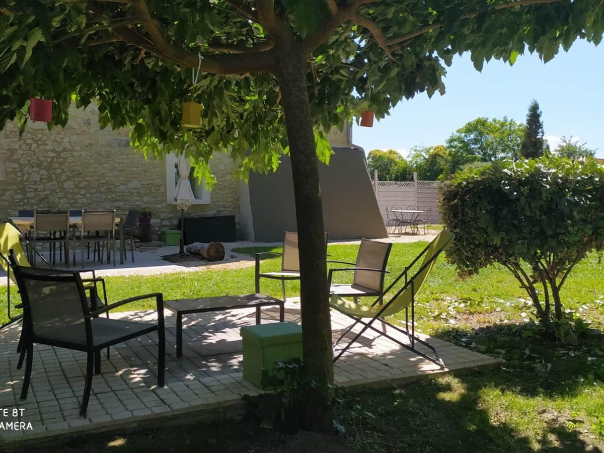 Jardin du gîte