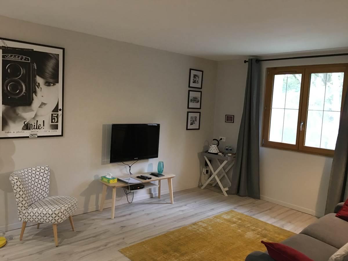 Salon Suite La Forestière Chambres hôtes quercy occitanie