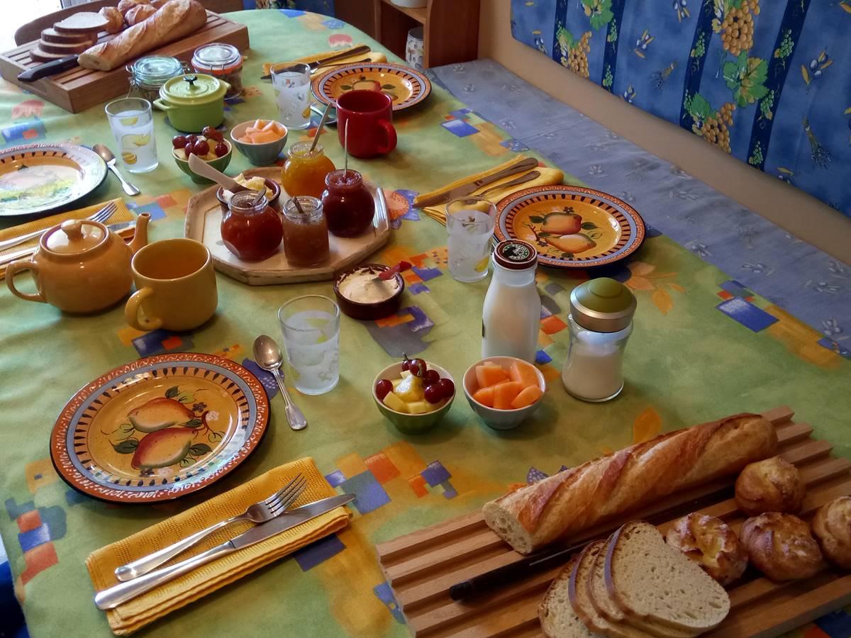 Déjeuner intérieur