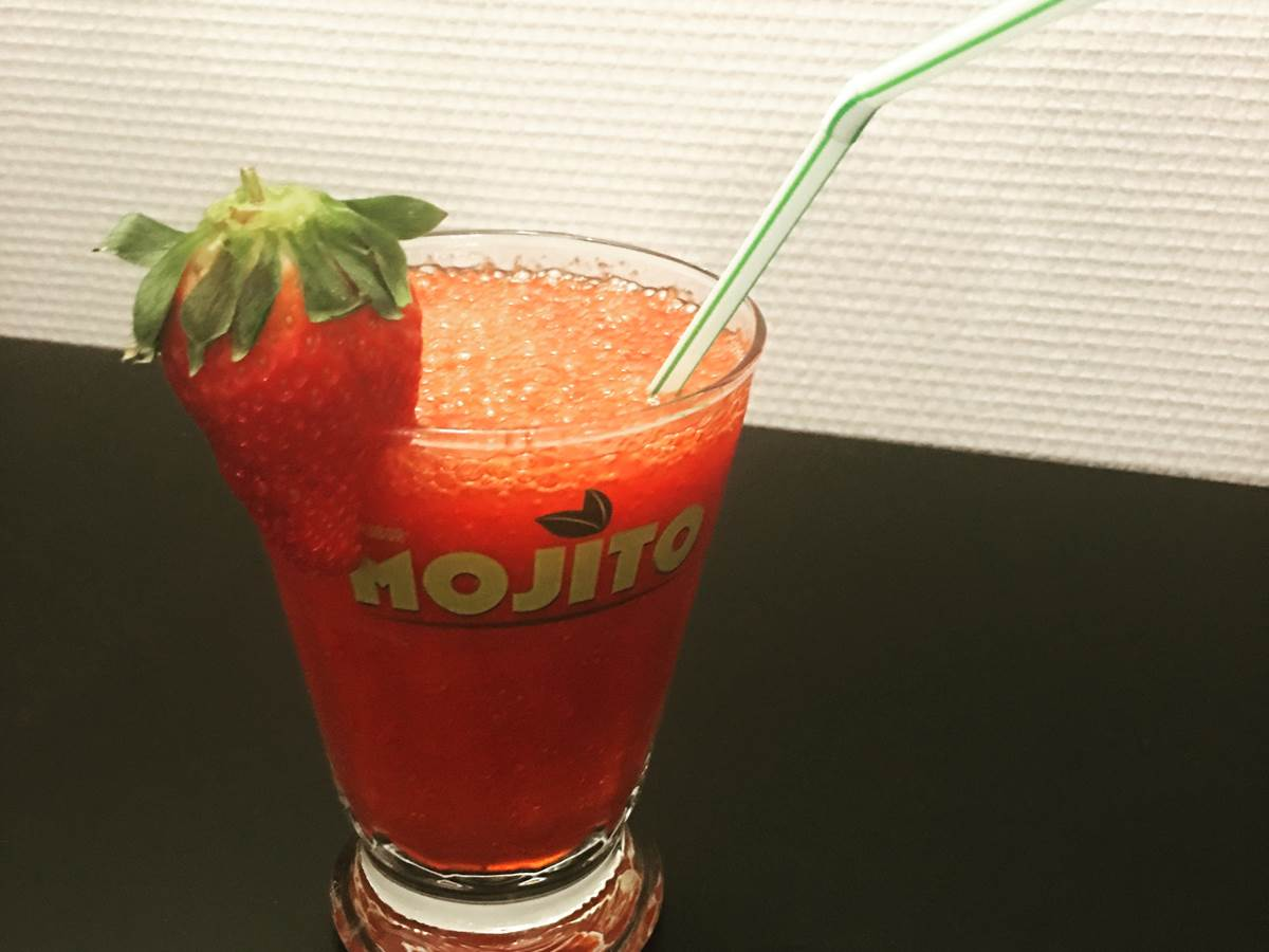 Mojito fraise restaurant chambre table hote montauban forestiere monclar toulouse