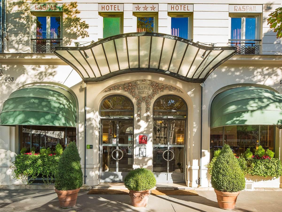 Hôtel Raspail Montparnasse