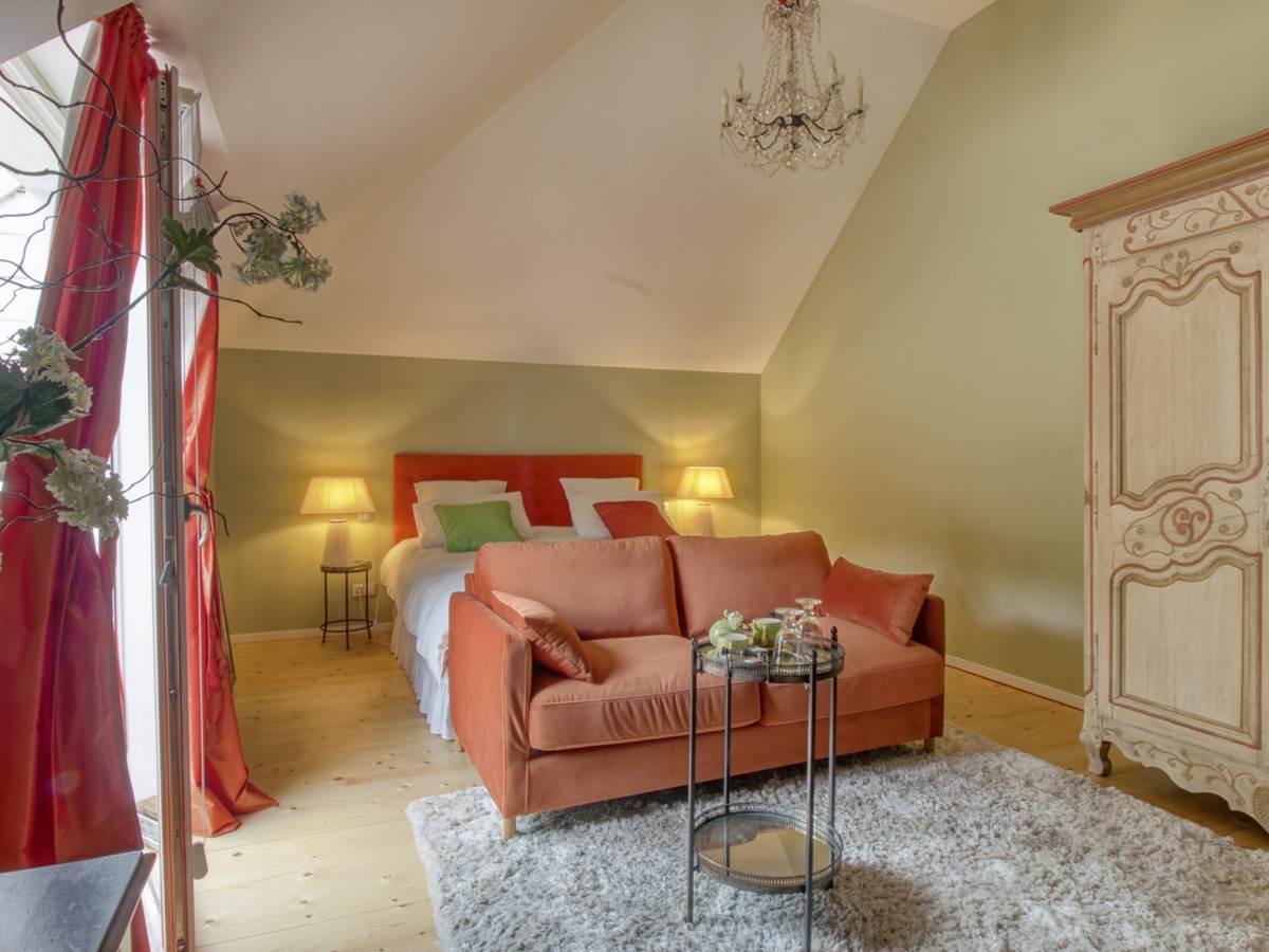 Calathéa - Villa Vent Couvert - 1 - Chambres d'hôtes Le Touquet avec piscine