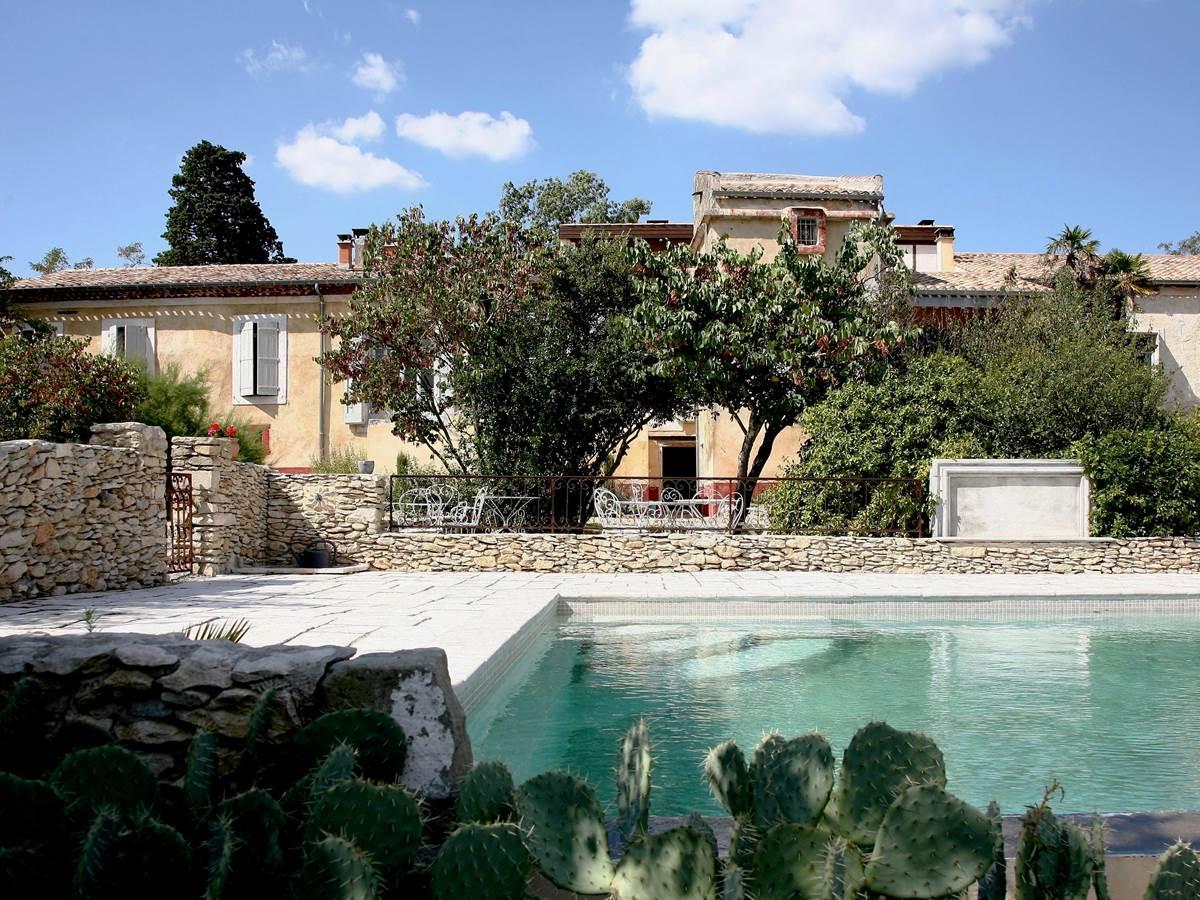 Piscine des Chambres d'hôtes la Rougeanne dans l'Aude pays Cathares