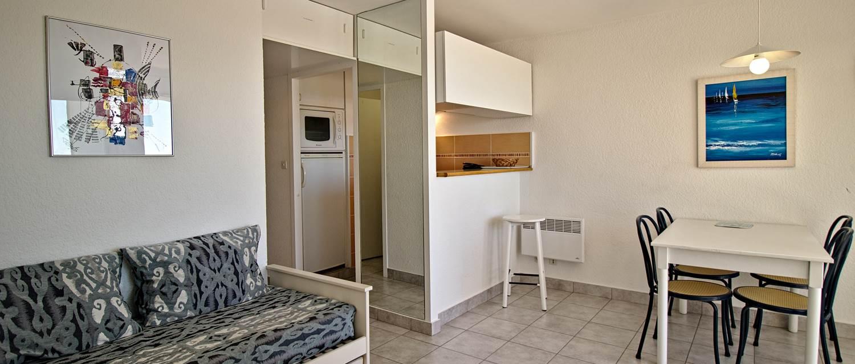 Salon appartement T2