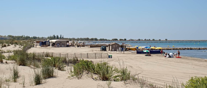 plage sud devant la résidence