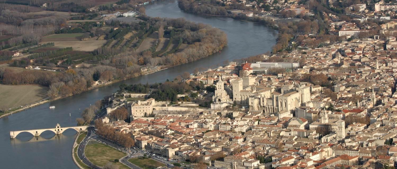 Vue Avignon