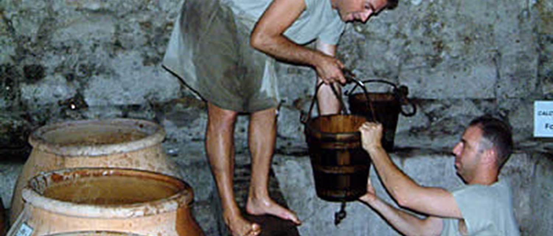 Mas Gallo-Romain des Tourelles - Vidage