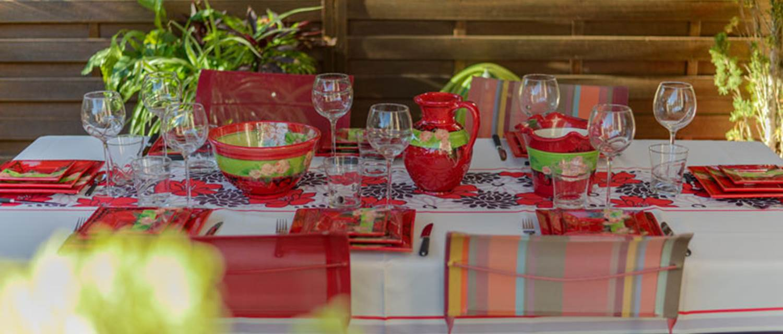 La Villa Léa - table d'hôtes