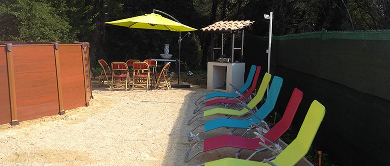 """Gîte """"Les Jonquilles"""" – BAGNOLS SUR CEZE – location Gard"""