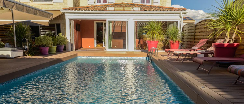 La Villa Léa piscine