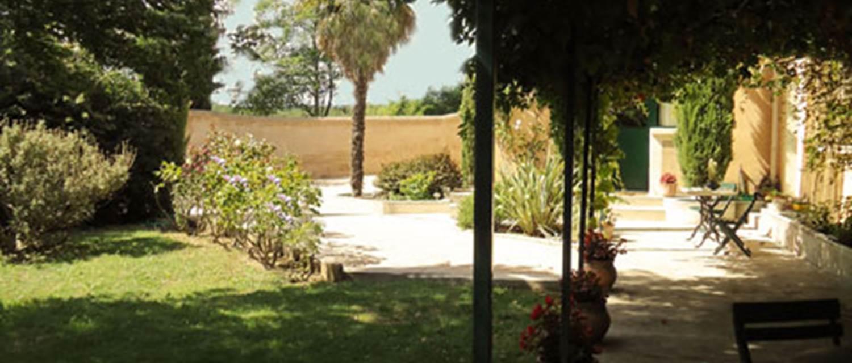 MAISON PONS terrasse et jardin