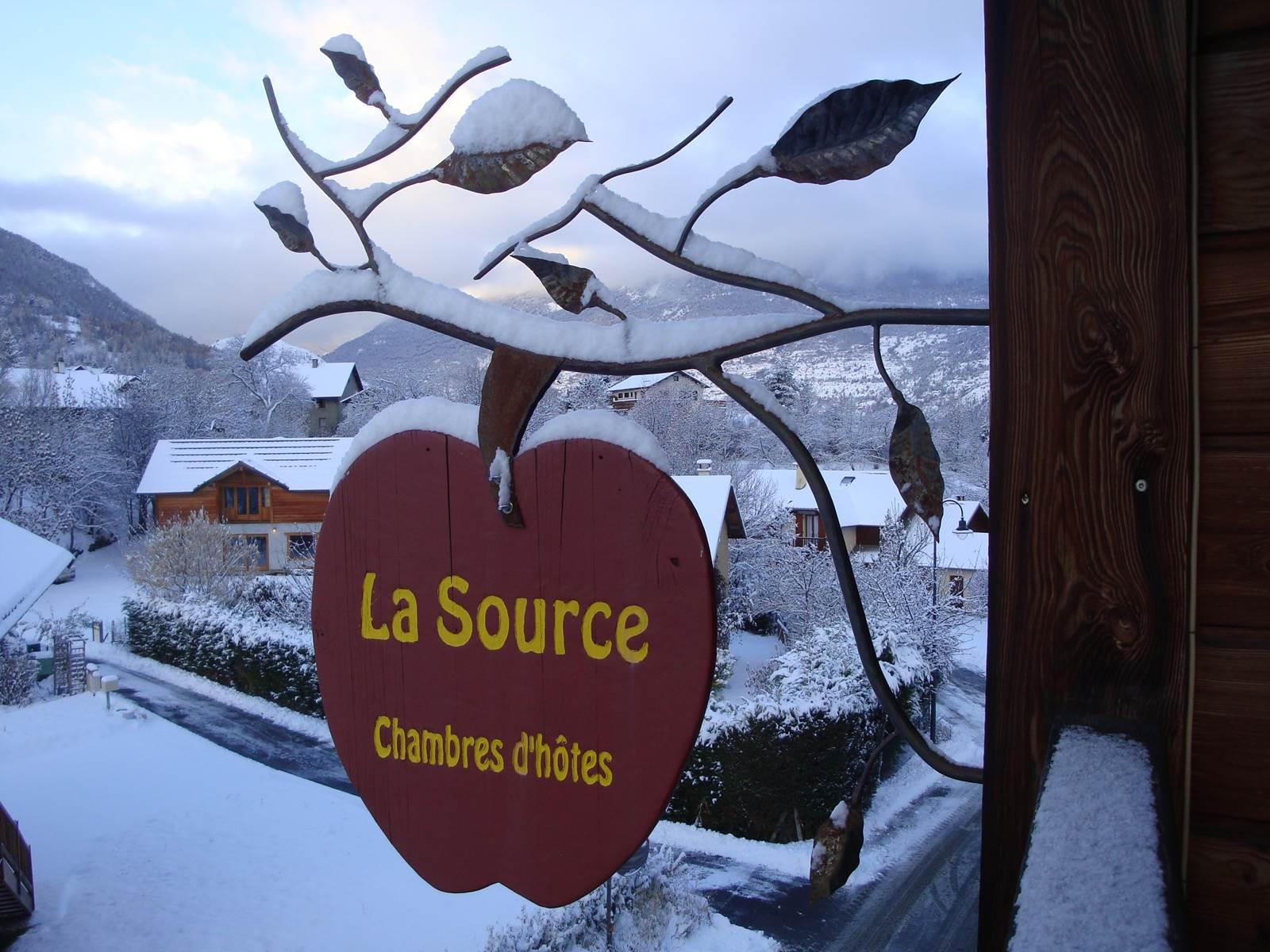 Chambres d'hôtes La Source, Risoul